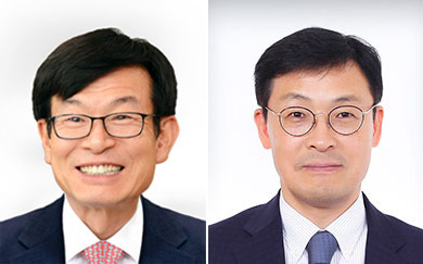 Kimg Sang-jo (left) and Lee Ho-seung (Yonhap)