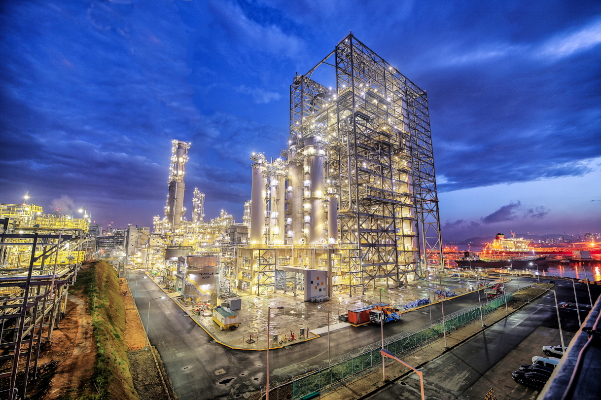 S-Oil's residue upgrading complex in Onsan, Ulsan (S-Oil)