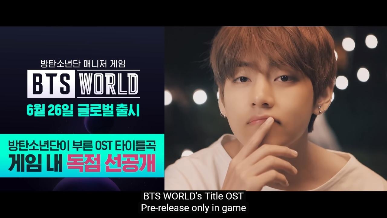 (BTS World's YouTube channel)