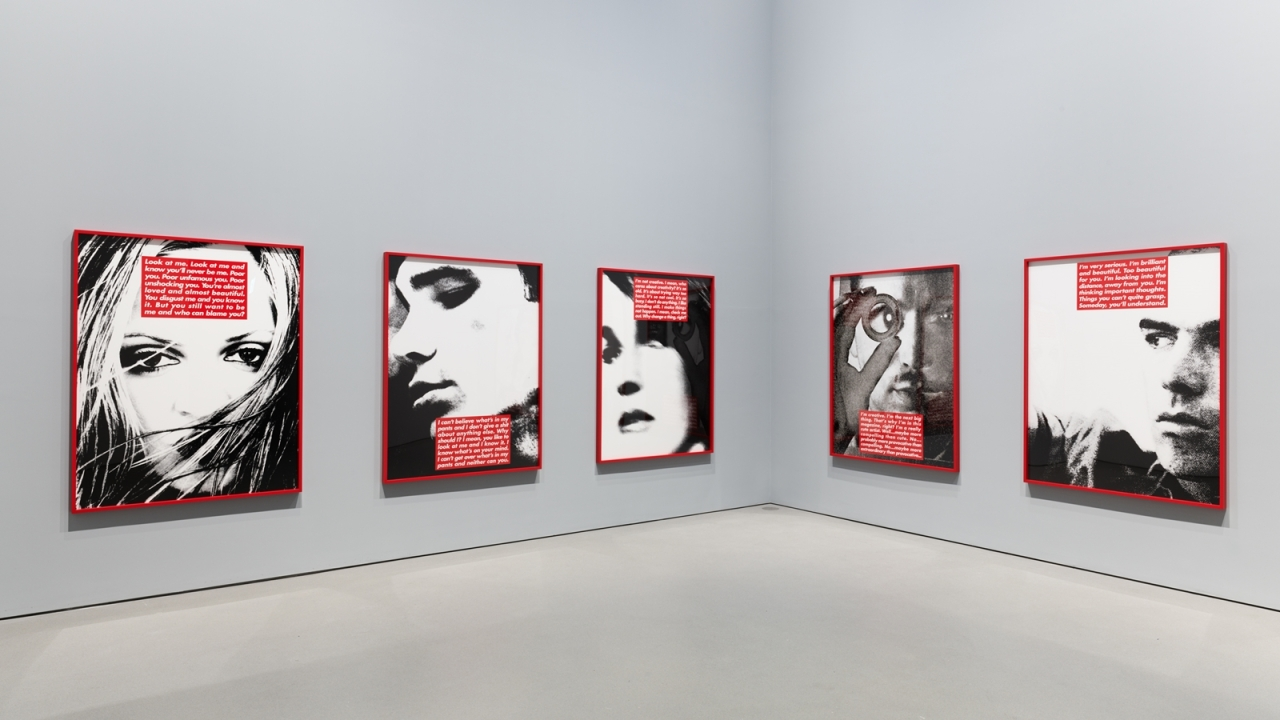 "Barbara Kruger's ""Untitled (Project for Dazed and Confused)"" (APMA)"