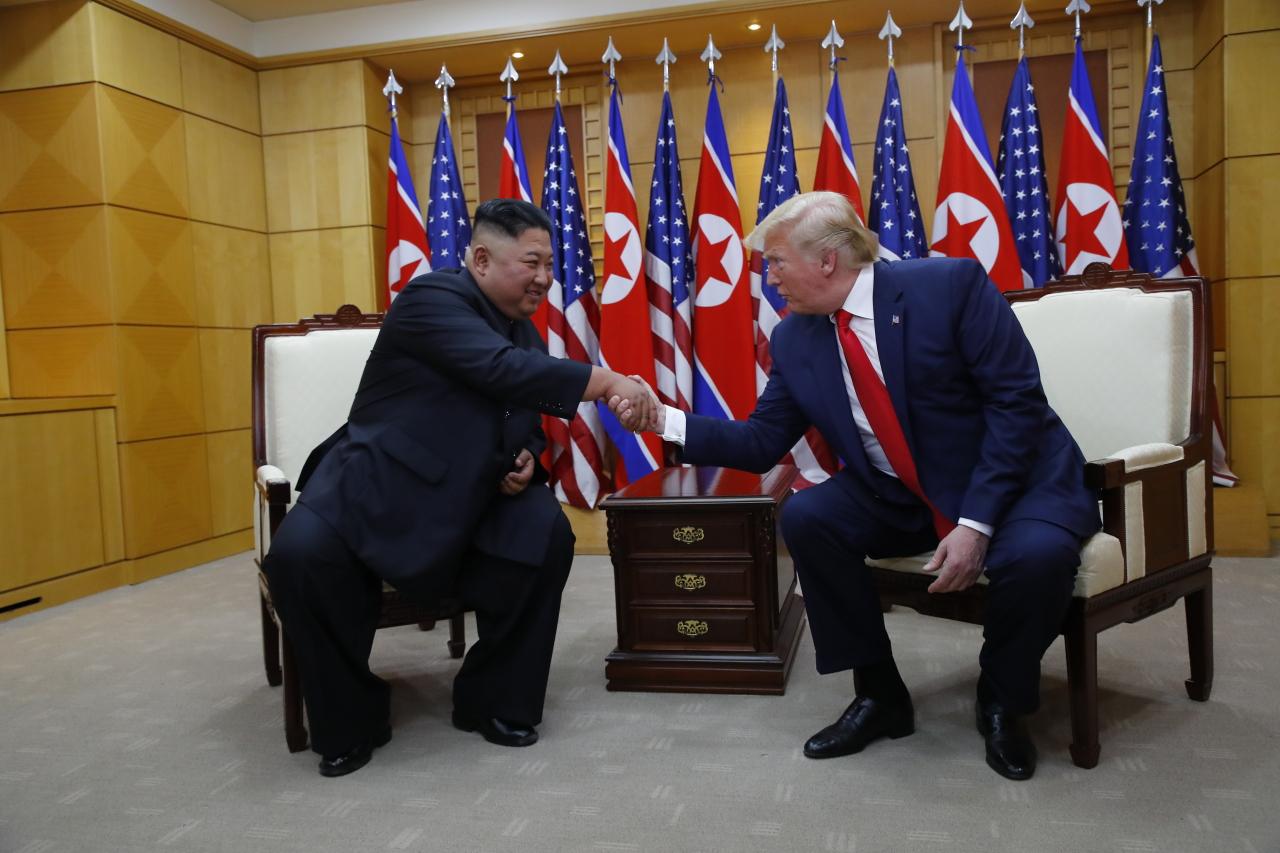 Trump invites Kim to White House (Yonhap)