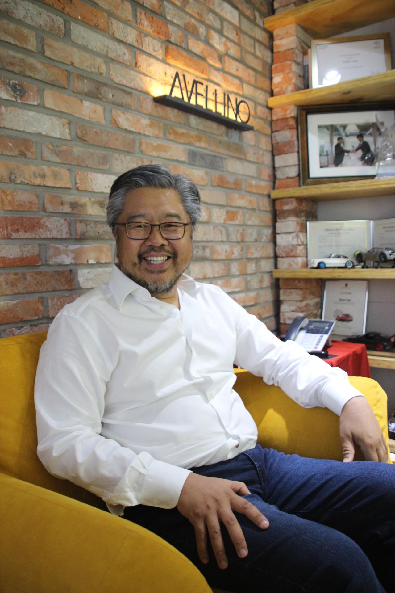 Avellino Labs founder and Chairman Gene Lee (Lim Jeong-yeo/The Korae Herald)