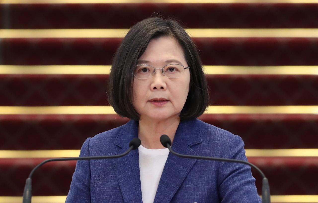 President Tsai Ing-wen (EPA-Yonhap)