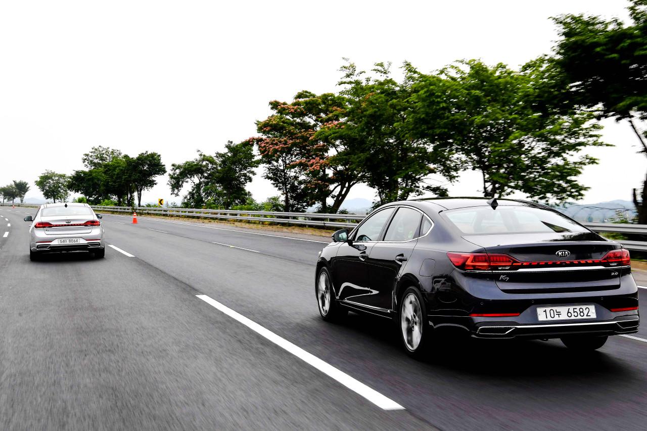 Kia Motors' K7 Premier (Kia Motors)