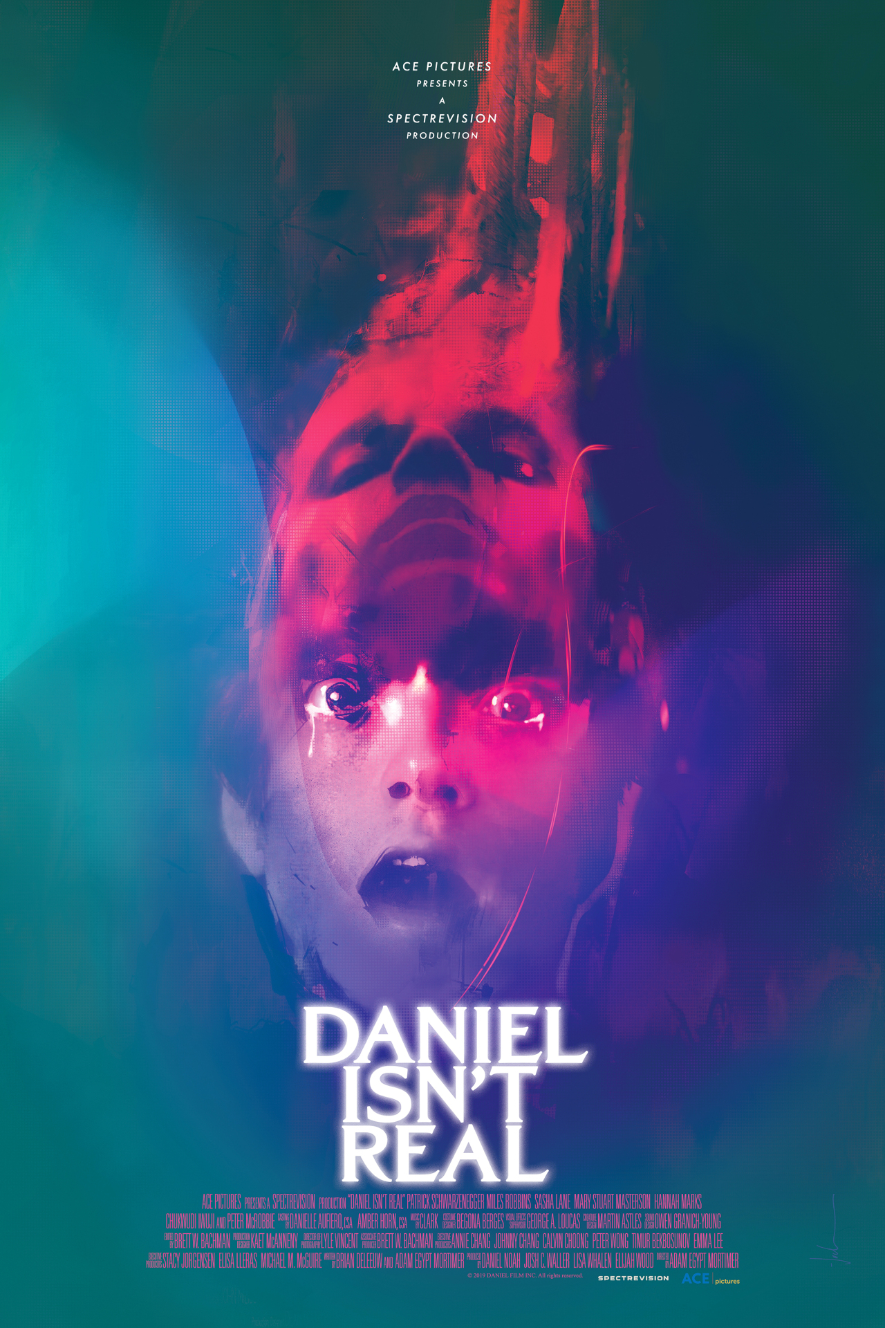 "Poster for ""Daniel Isn't Real"" (BIFAN)"