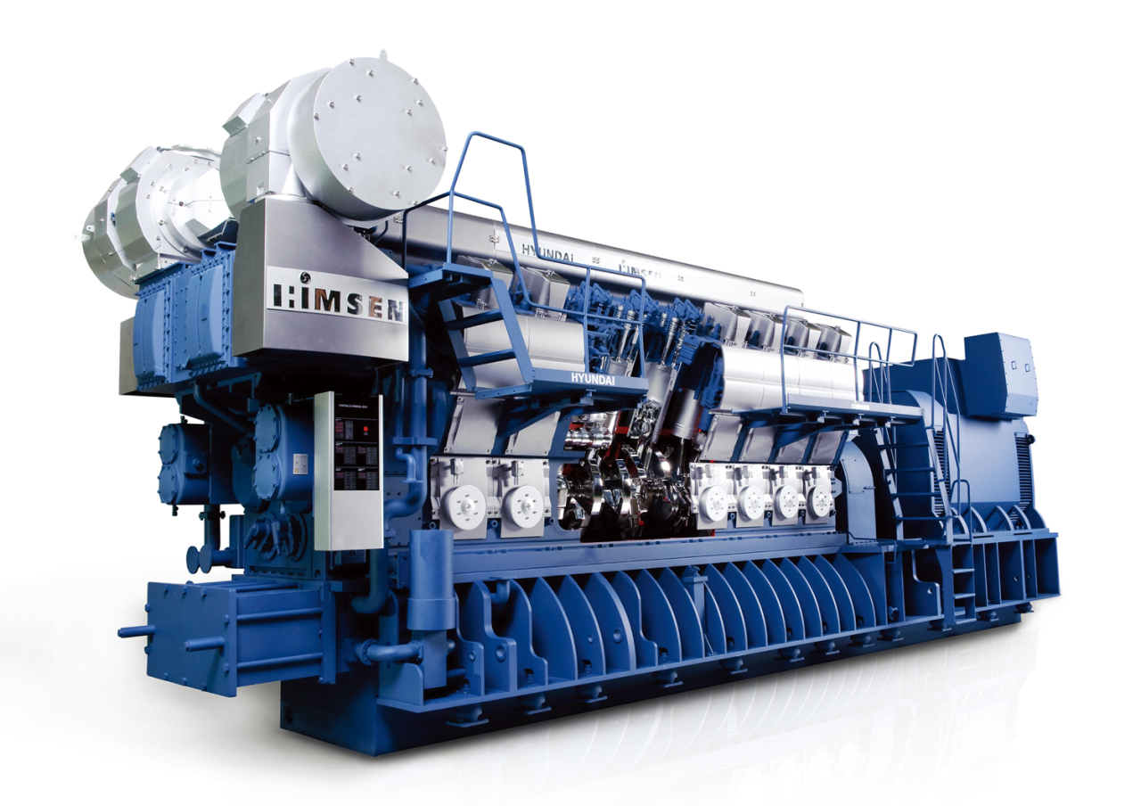 HiMsen propulsion system developed by Hyundai Heavy Industries HHI