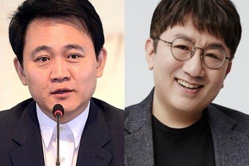 Bang Jun-hyuk (left) and Bang Si-hyuk. (The Korea Herald DB)
