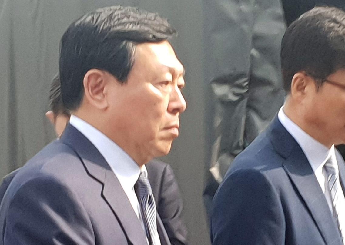 Lotte Chairman Shin Dong-bin (Yonhap)