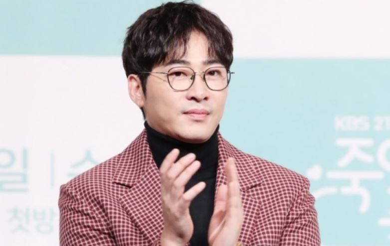 Kang was arrested Tuesday night on suspicions of raping a production staff. (Yonhap)