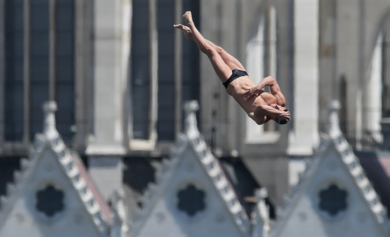 2019 FINA World Aquatics Championships high diving pool (Organizing Committee of 2019 FINA World Championships)
