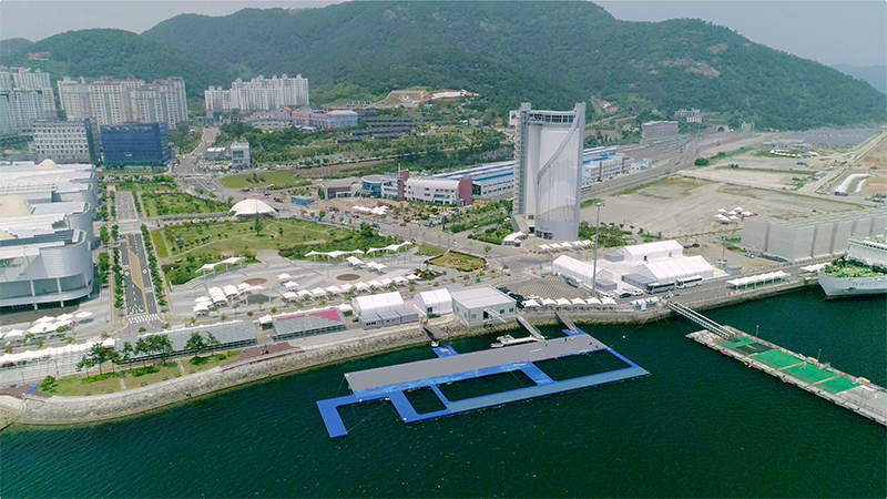2019 FINA World Aquatics Championships open-water competition venue (Organizing Committee of 2019 FINA World Championships)