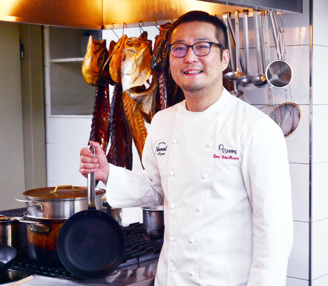 Chef Ryu Tae-hwan (Park Hyun-koo / The Korea Herald)