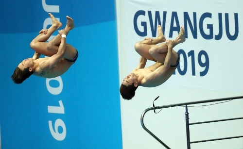 (Organizing committee for the FINA World Championships in Gwangju)
