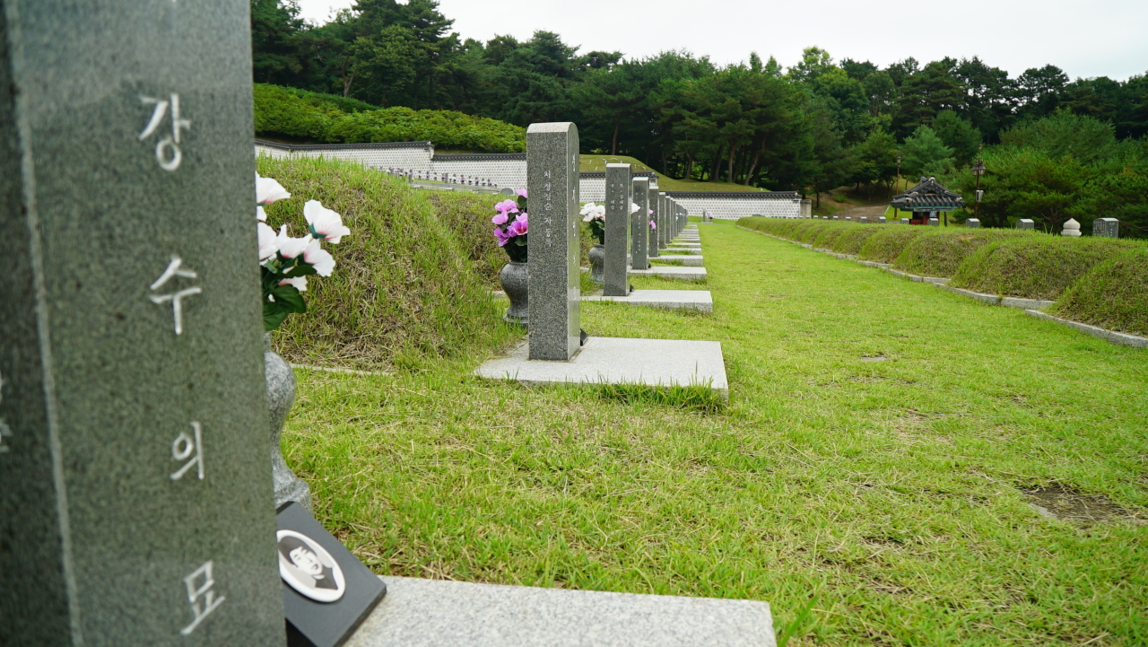 May 18th National Cemetery (Choi Ji-won/The Korea Herald)