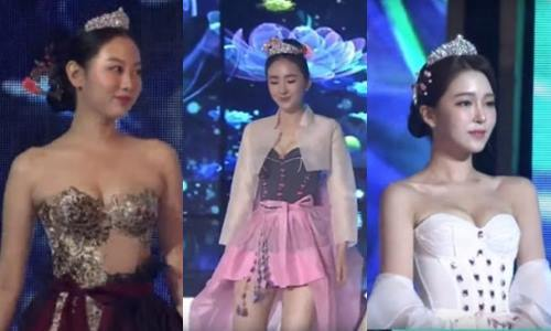 (Screen grab from video of 2019 Miss Korea)