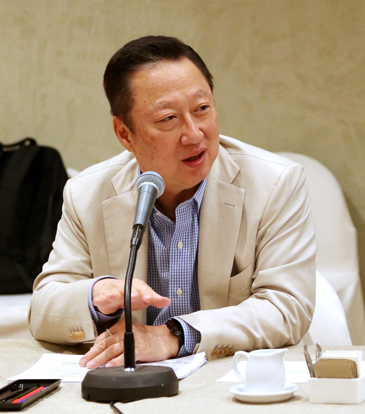 KCCI Chairman Park Yong-maan (KCCI)
