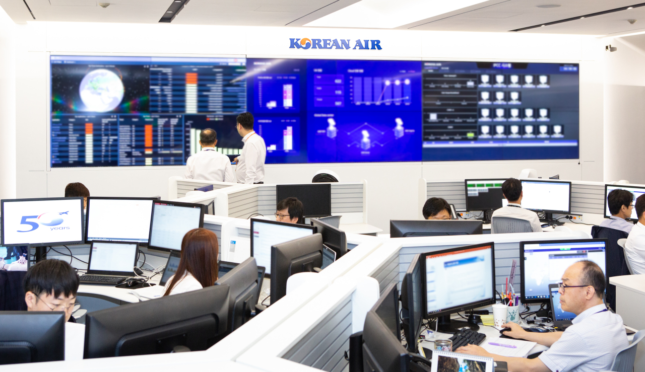 Korean Air's Cloud Command Center (Korean Air)