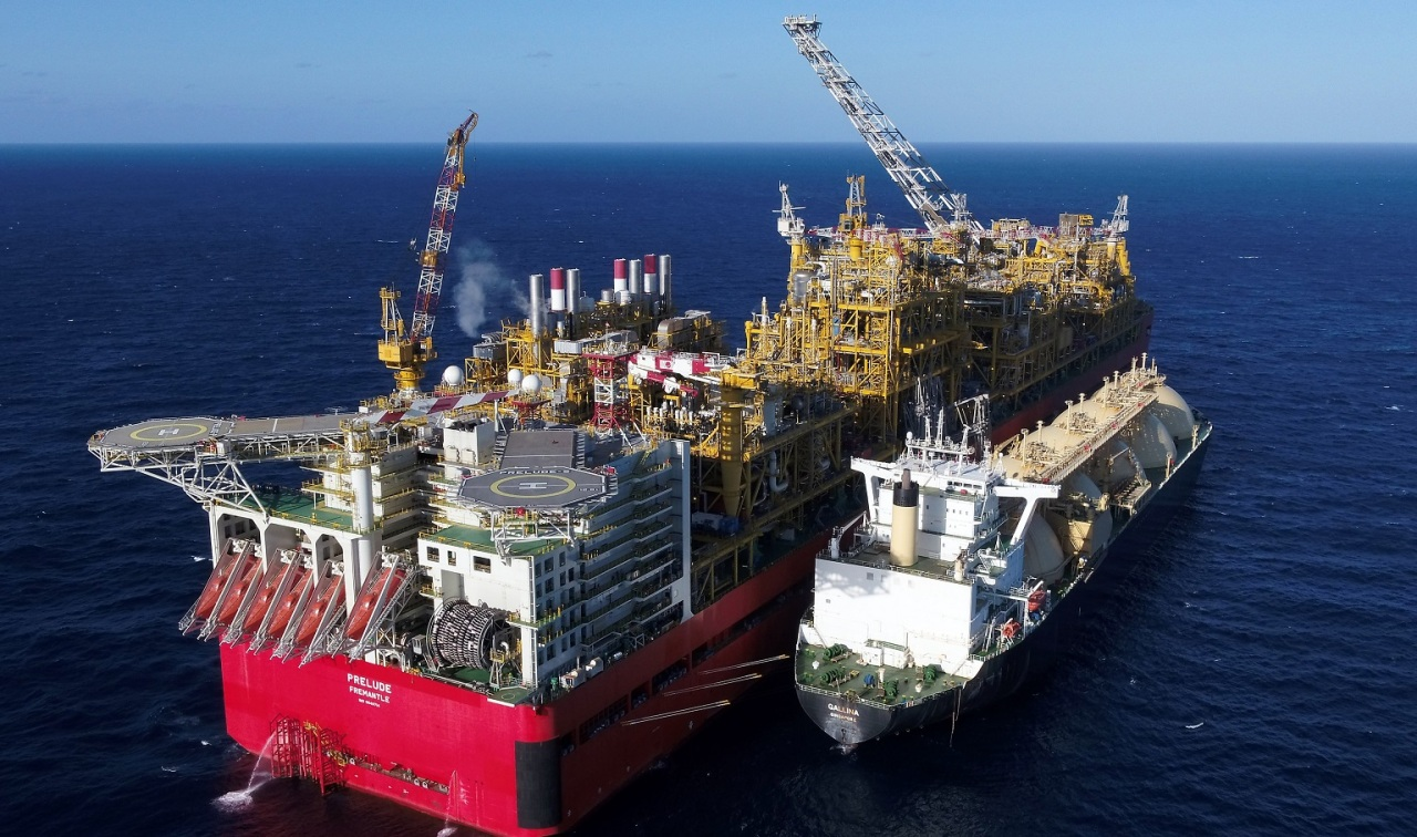 Australia's Prelude floating liquefied natural gas unit (Kogas)