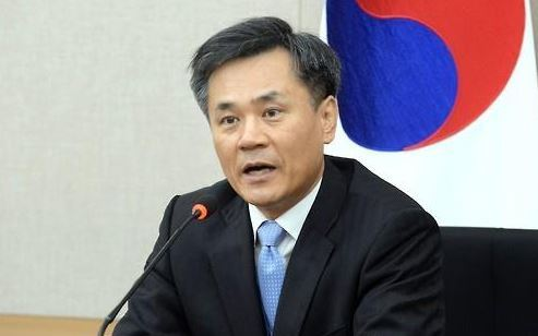 Kim Seung-ho, deputy minister for multilateral and legal affairs at the Ministry of Trade, Industry and Energy (Yonhap)