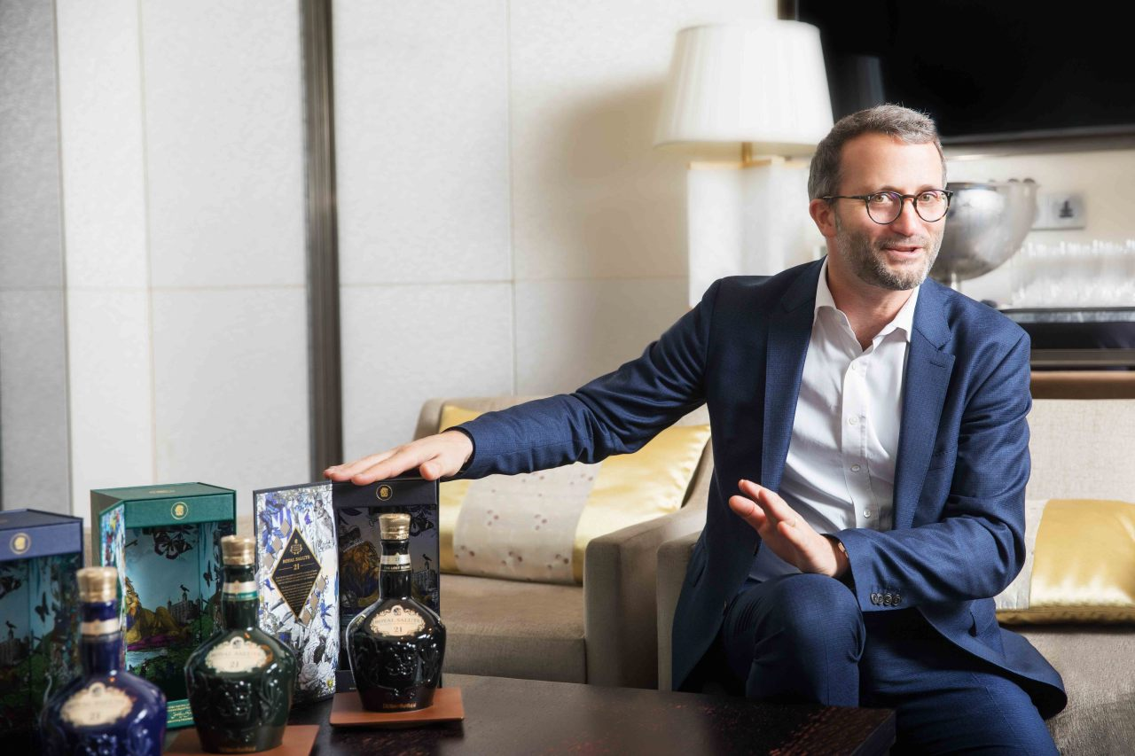 Mathieu Deslandes, Royal Salute global marketing director (Pernod Ricard Korea)
