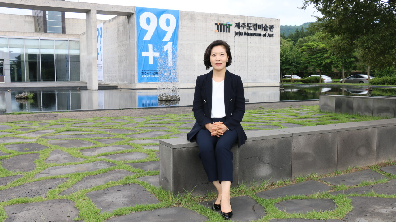 Choi Jeong-ju, the director of the Jeju Museum of Art (Jeju Museum of Art)