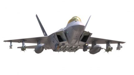 The KFX/IFX fighter jet under development by South Korea and Indonesia. (DAPA)