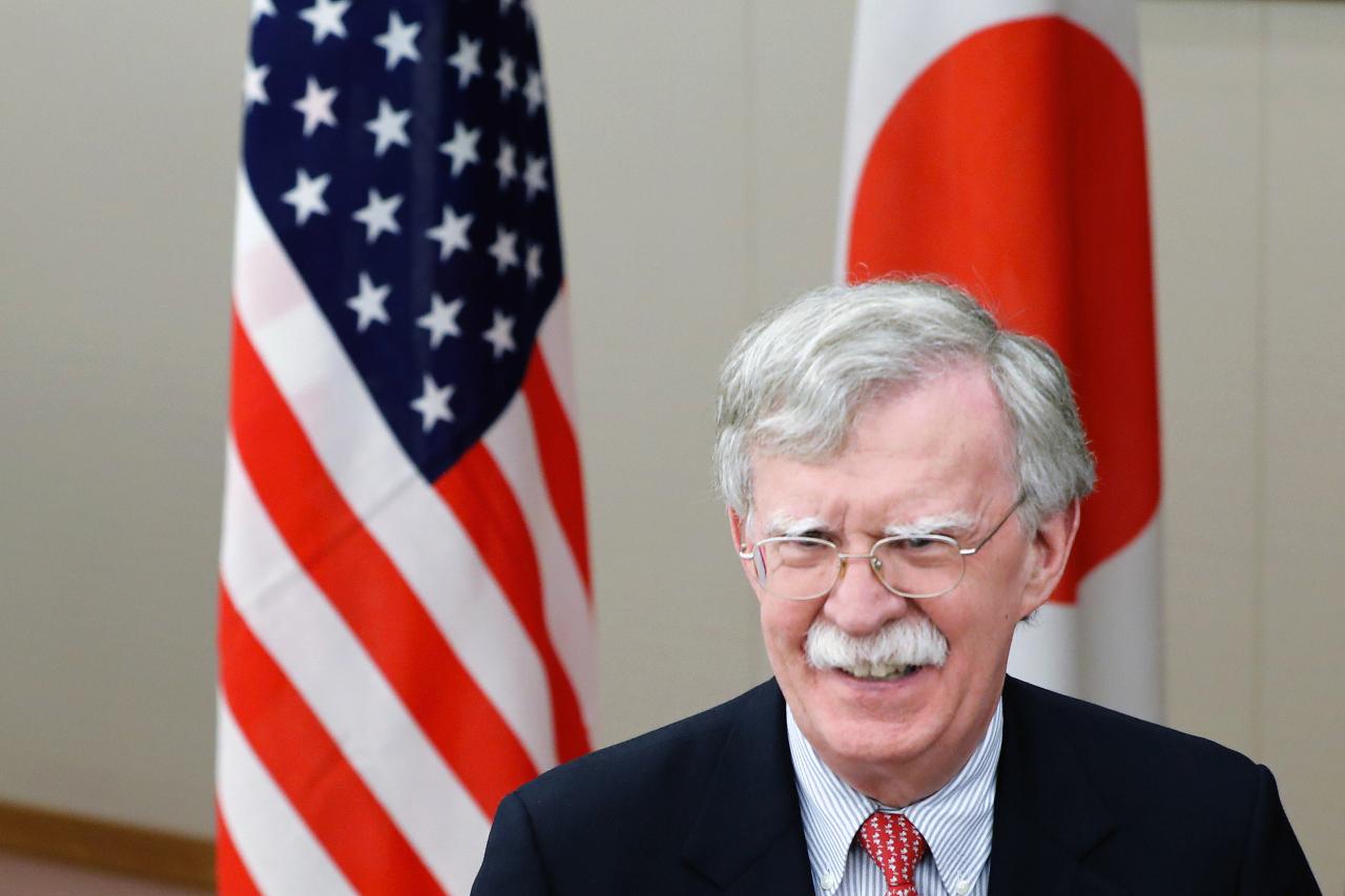 US National Security Adviser John Bolton (Yonhap)