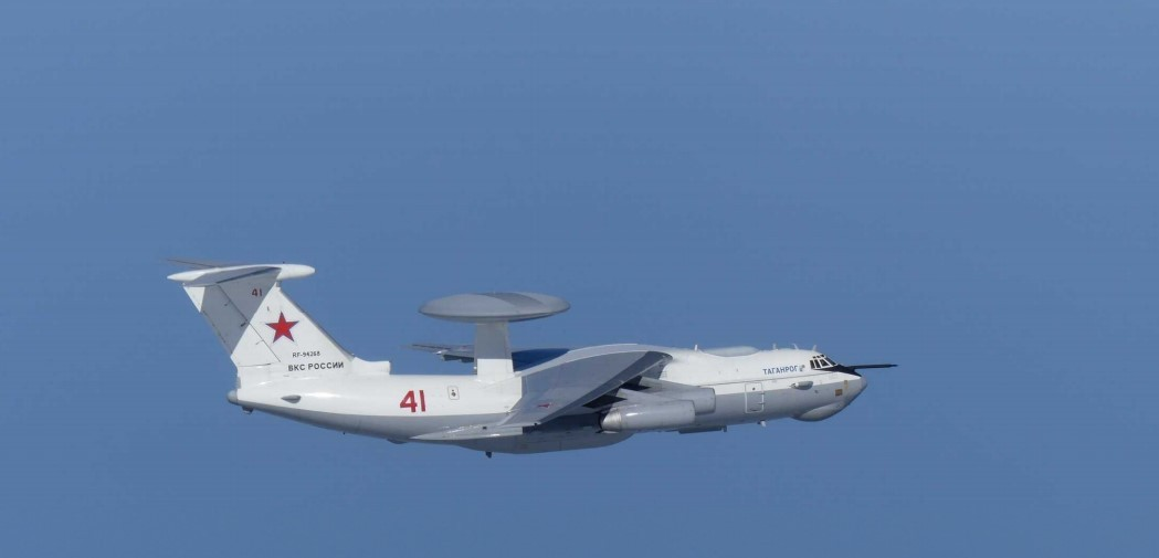 A Russian warplane A-50 (Yonhap)
