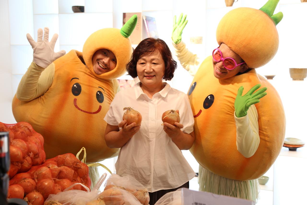Onion farmer (Korean Food Promotion Institute)