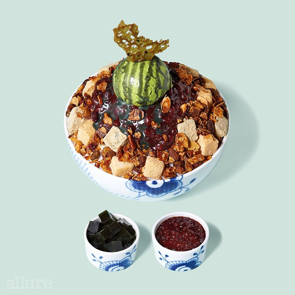 Retro Mugwort Bingsu (Grand InterContinental Seoul Parnas)