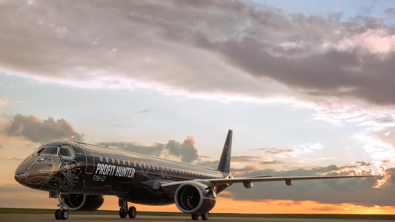 Embraer's E195-E2 (Embraer)