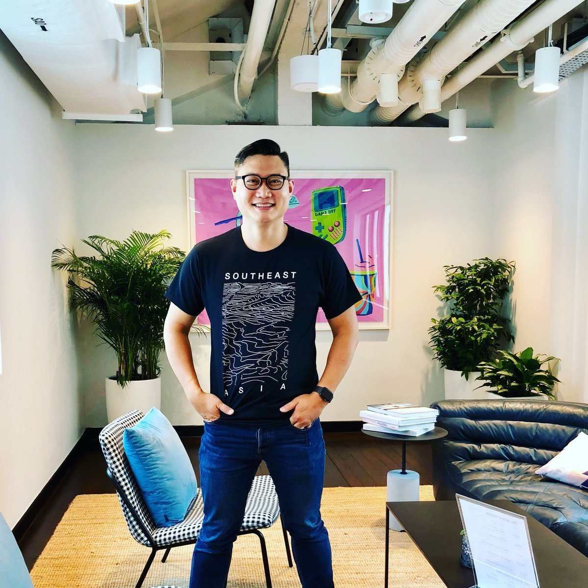 Adrian Tan, the head of Singapore-based WeWork Labs Southeast Asia (WeWork)