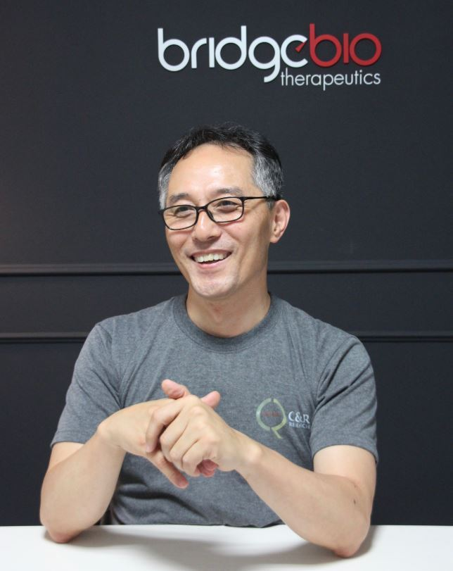 Bridge Biotherapeutics CEO Lee Jung-kue (Lim Jeong-yeo/The Korea Herald)