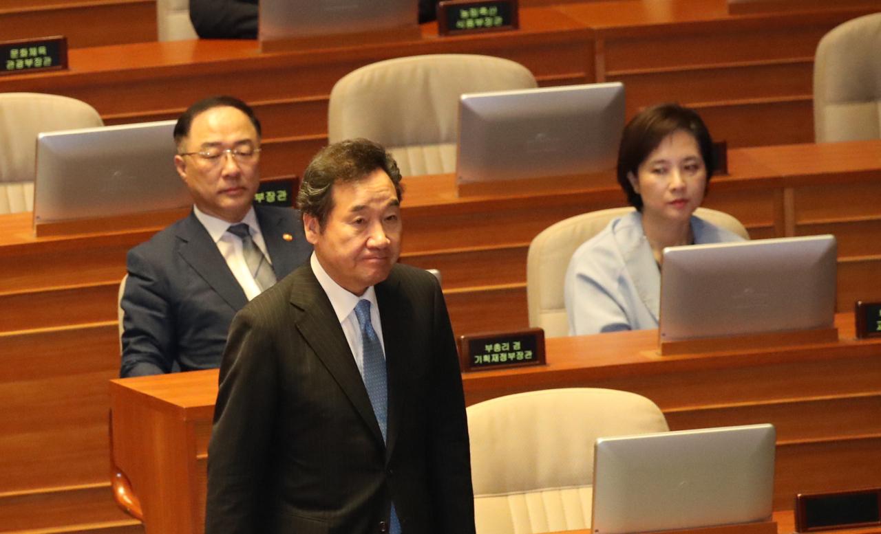 Prime Minister Lee Nak-yon (Yonhap)