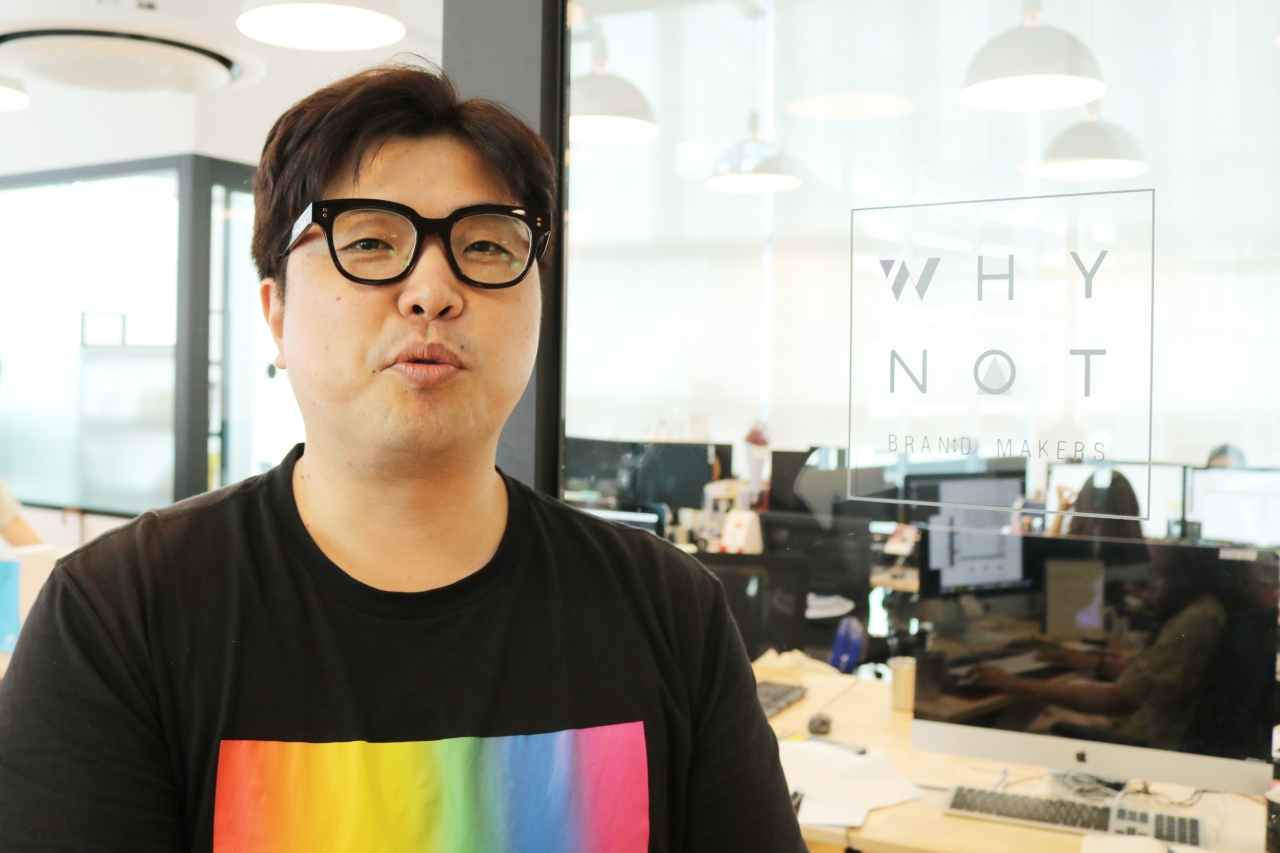 Whynot Media CEO Lee Min-seok (Son Ji-hyoung/The Investor)