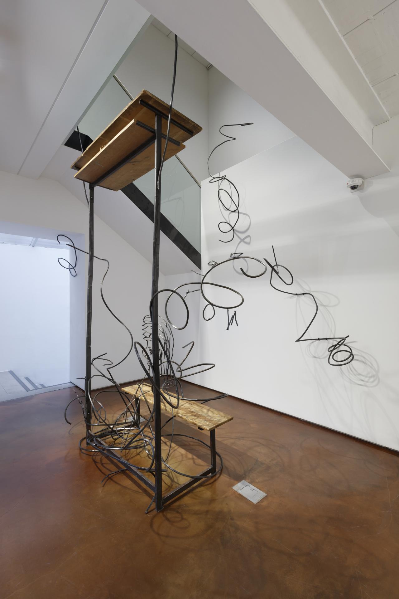 """Petrit Halilaj's installation """"Abetare"""" (2019) (Arario Gallery)"""