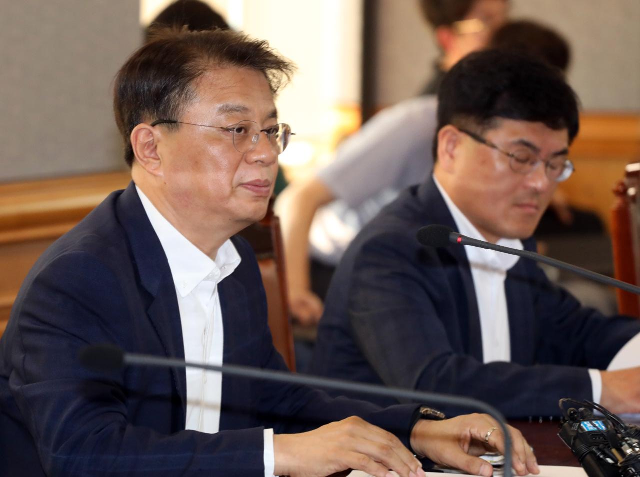 Deputy Minister of Economy and Finance Bang Ki-sun. (Yonhap)