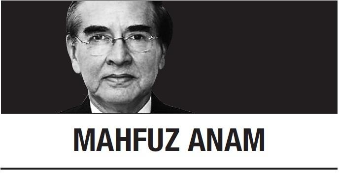 [Mahfuz Anam] 'Praise Freedom' is new press freedom