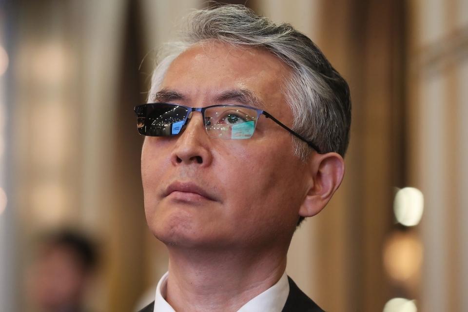 SillaJen CEO Moon Eun-sang (Yonhap)