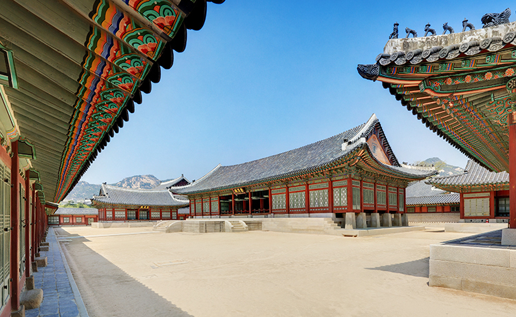 A picture of gangnyeongjeon, located in Gyeongbokgung, central Seoul (Cultural Heritage Administration)