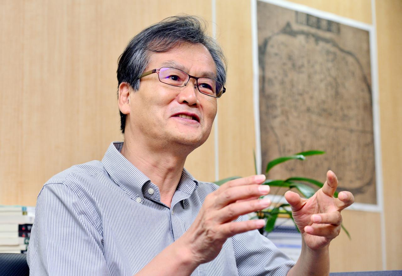 Chung Jae-jeong (Park Hyun-koo/The Korea Herald)