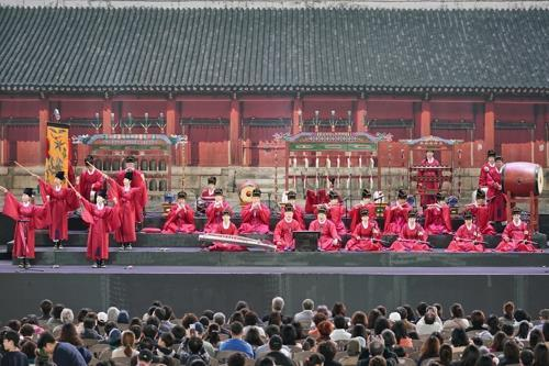 This image provided by the Korean Traditional Performing Arts Foundation shows
