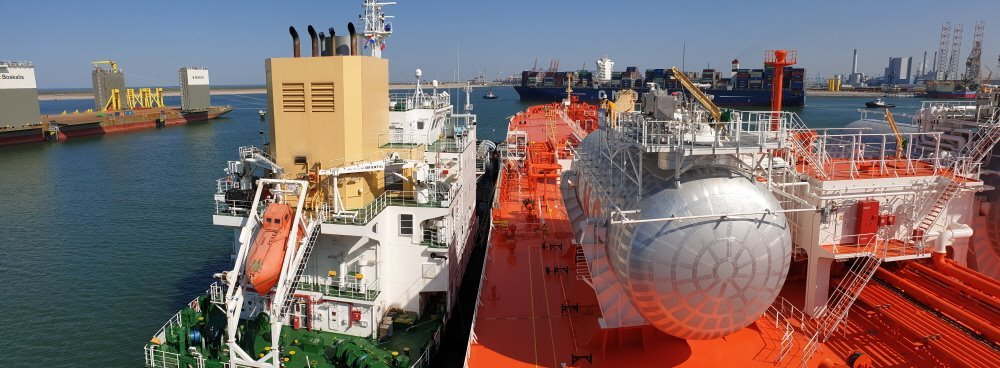 Samsung Heavy Industries' LNG-fueled oil tanker (Samsung Heavy Industries)