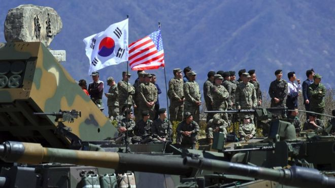 N. Korea again raps Seoul over joint military exercise