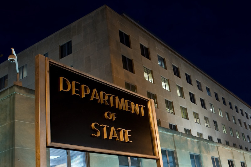 The US State Department in Washington, DC (AFP)