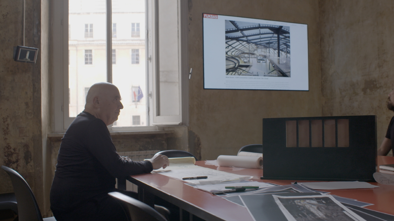 Italian architect Massimiliano Fuksas (LG Electronics)