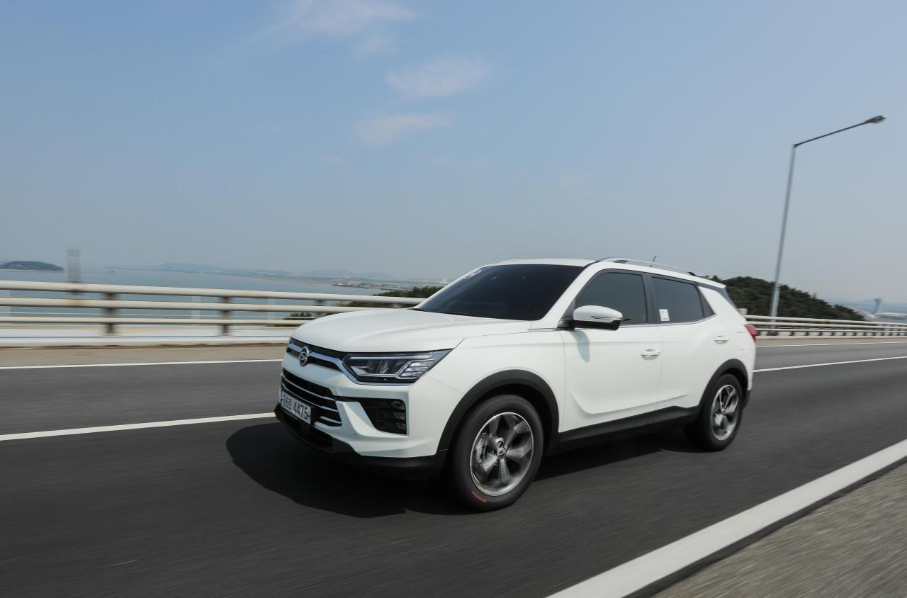 Korando gasoline (SsangYong Motor)