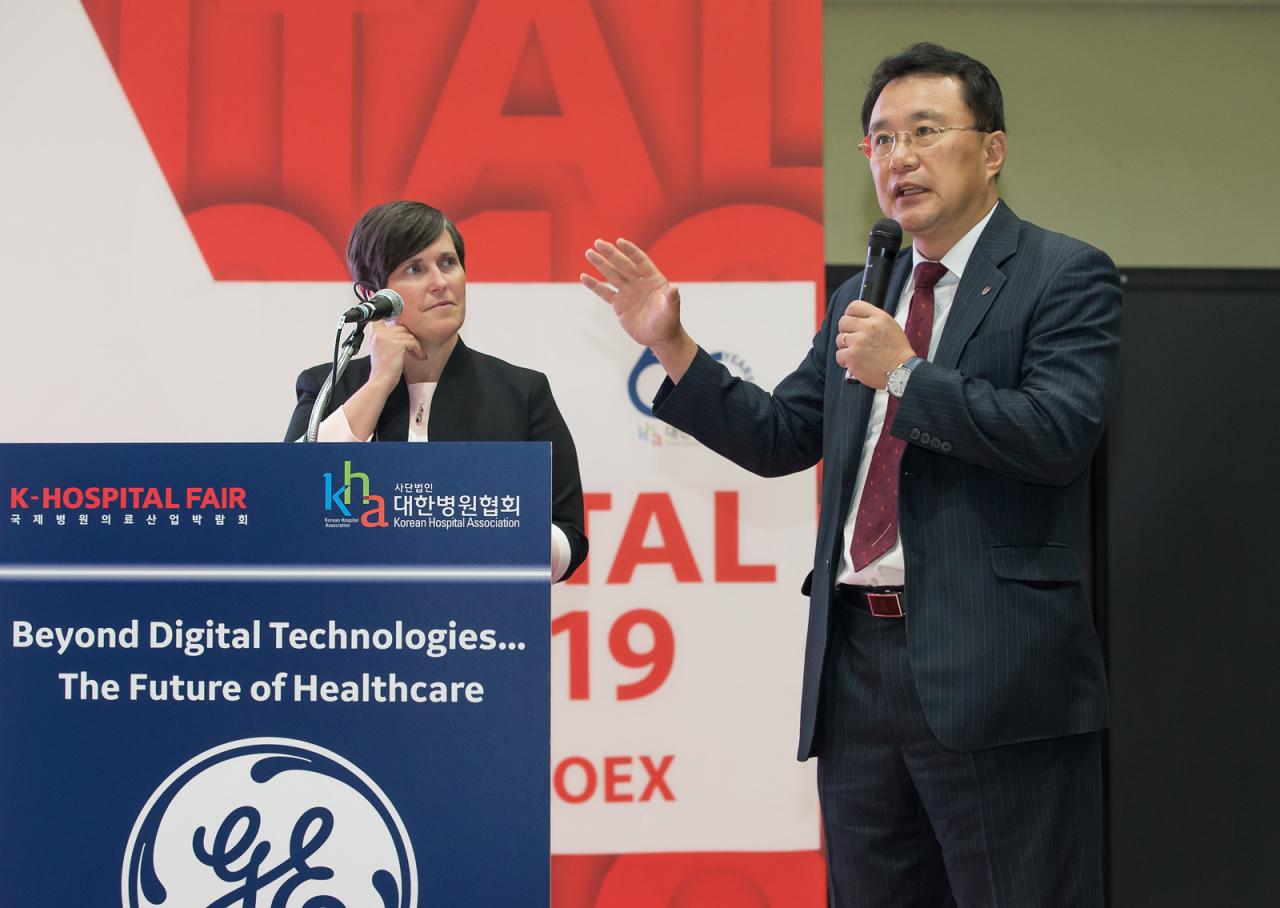 Park Jong-hoon, president of Korea University Hospital (GE Healthcare)