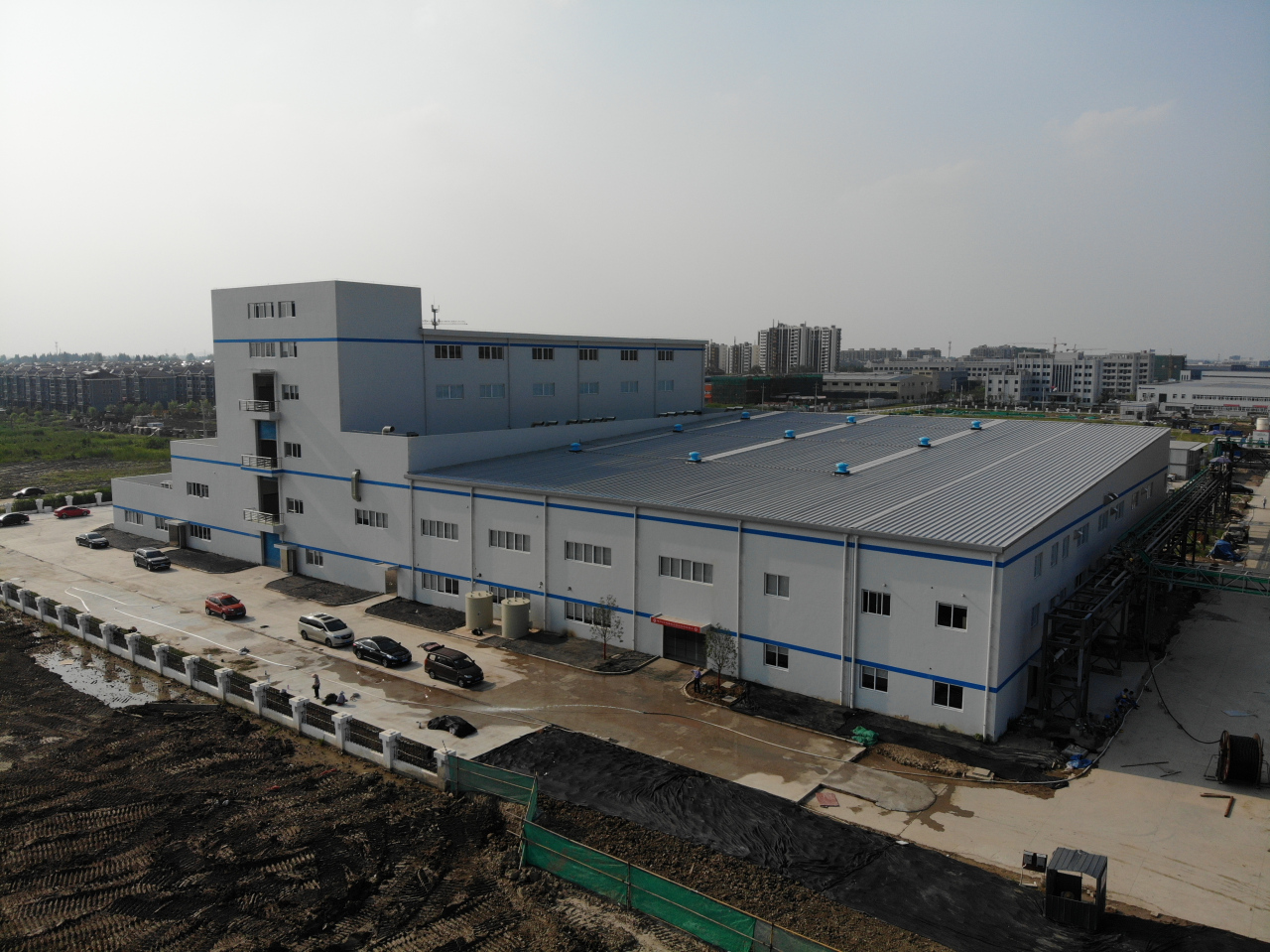 Posco's cathode material plant in Tongxiang, Zhejiang province, built under a joint venture with China's Huayou Cobalt (Posco)