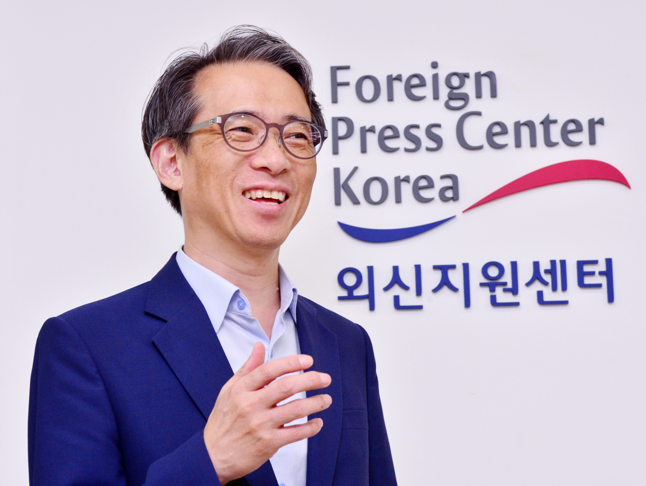 Korean Culture and Information Service Director Kim Tae-hoon. Park Hyun-koo/The Korea Herald